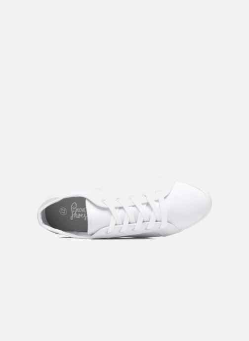 Baskets I Love Shoes GOLCIN Blanc vue gauche
