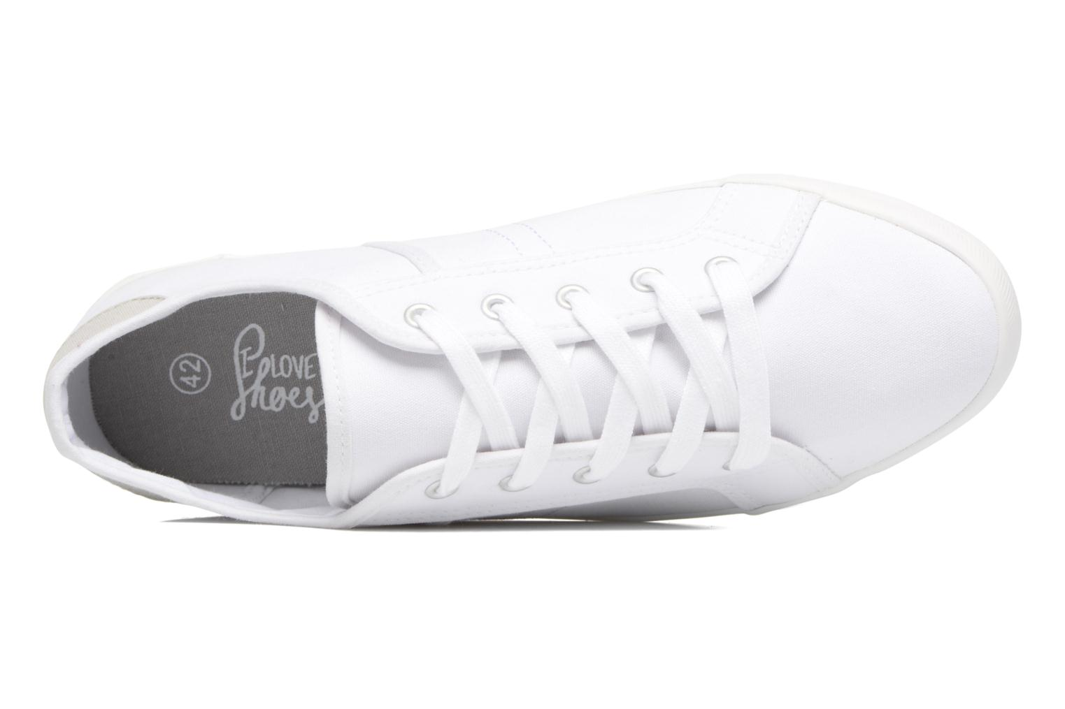 Trainers I Love Shoes GOLCIN White view from the left