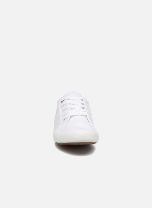 Baskets I Love Shoes GOLCEN Blanc vue portées chaussures