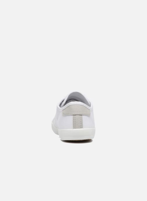 Baskets I Love Shoes GOLCEN Blanc vue droite