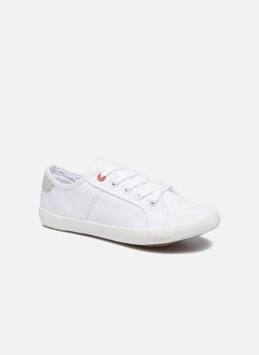 Baskets I Love Shoes GOLCEN Blanc vue détail/paire