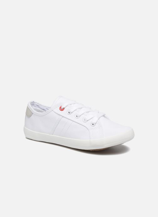 Trainers I Love Shoes GOLCEN White detailed view/ Pair view