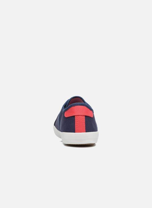 Baskets I Love Shoes GOLCEN Bleu vue droite