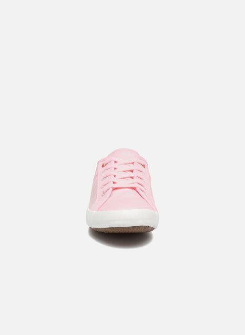 Baskets I Love Shoes GOLCEN Rose vue portées chaussures
