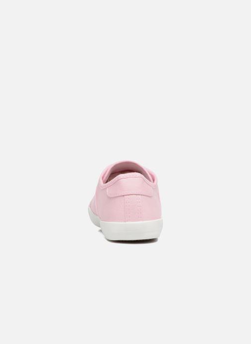 Deportivas I Love Shoes GOLCEN Rosa vista lateral derecha