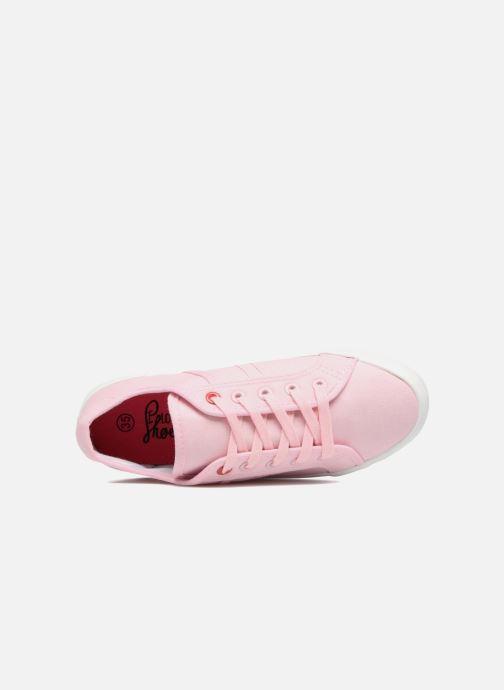 Deportivas I Love Shoes GOLCEN Rosa vista lateral izquierda