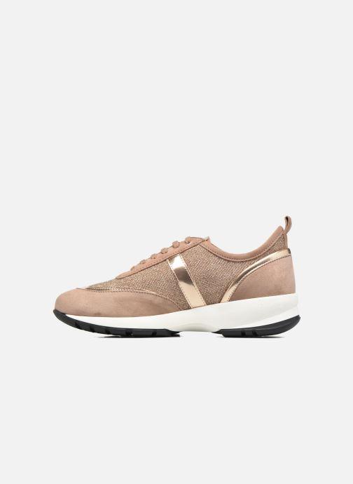 Sneakers Unisa Elisa Goud en brons voorkant