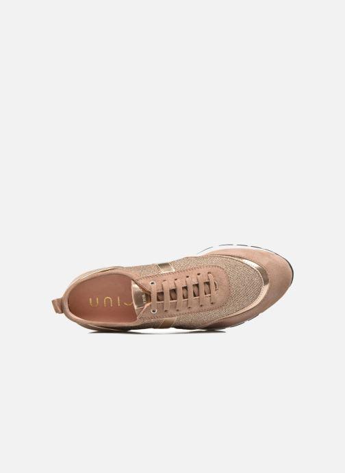 Sneakers Unisa Elisa Goud en brons links