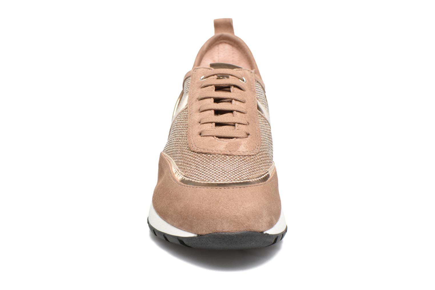 Trainers Unisa Elisa Bronze and Gold model view