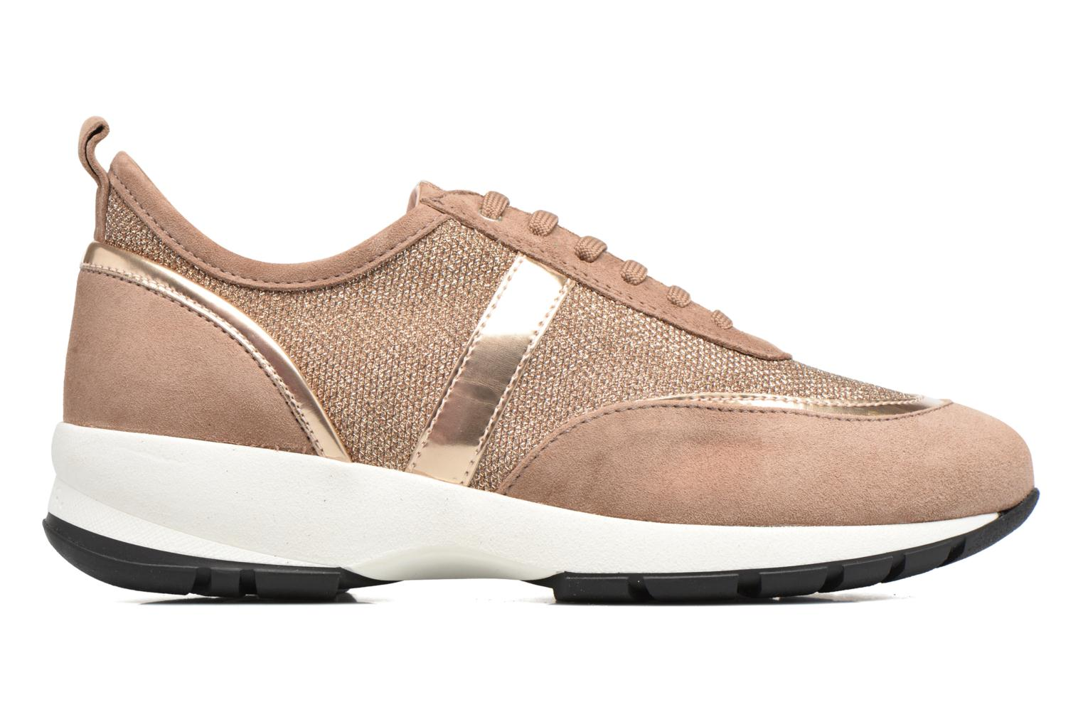 Trainers Unisa Elisa Bronze and Gold back view