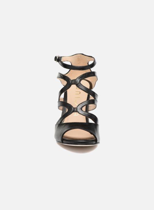 Sandales et nu-pieds Unisa Wence Noir vue portées chaussures