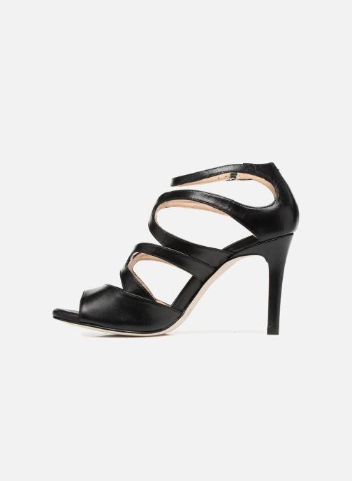 Sandales et nu-pieds Unisa Wence Noir vue face