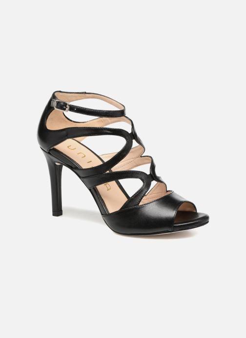 Sandales et nu-pieds Unisa Wence Noir vue détail/paire