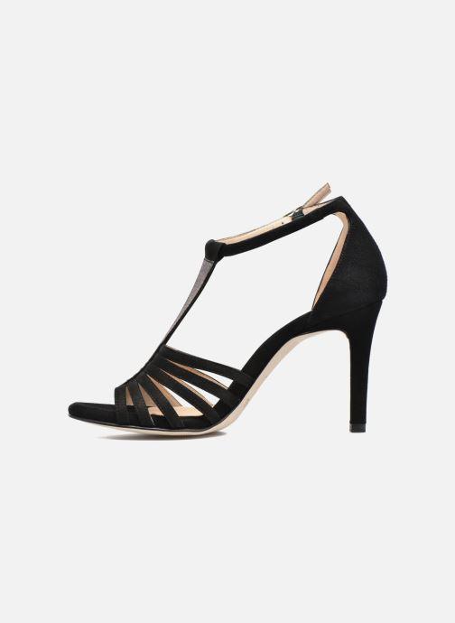 Sandales et nu-pieds Unisa Wamba Noir vue face