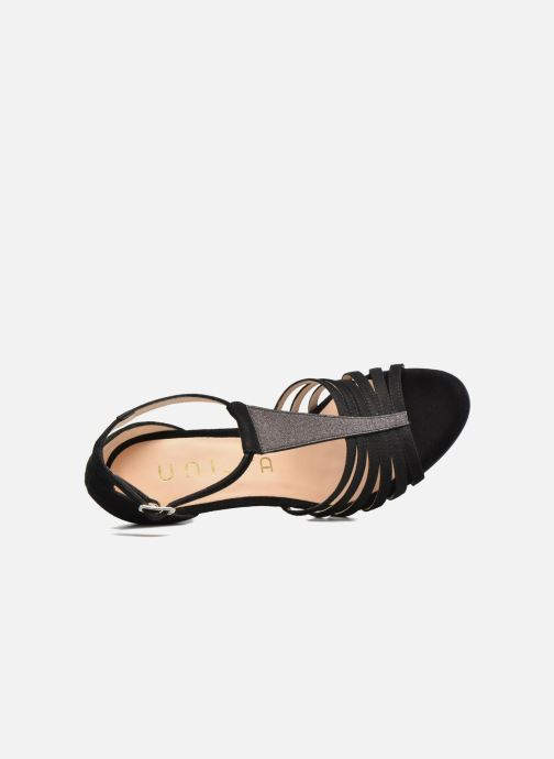 Sandales et nu-pieds Unisa Wamba Noir vue gauche