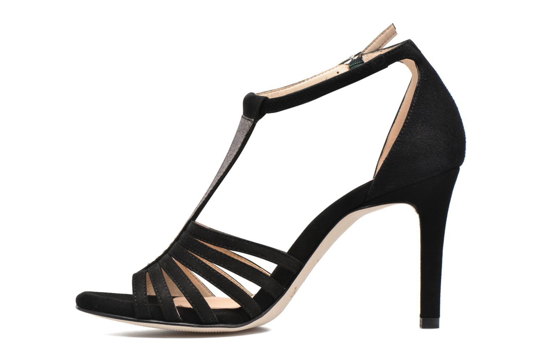 Sandals Unisa Wamba Black front view