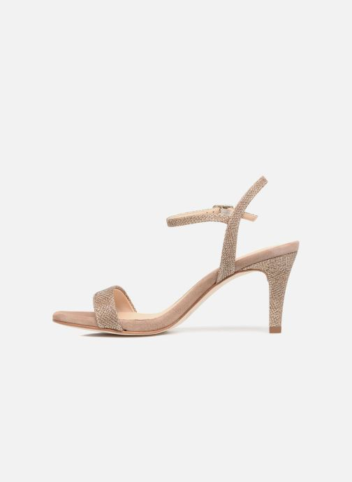 Sandales et nu-pieds Unisa Olea Beige vue face