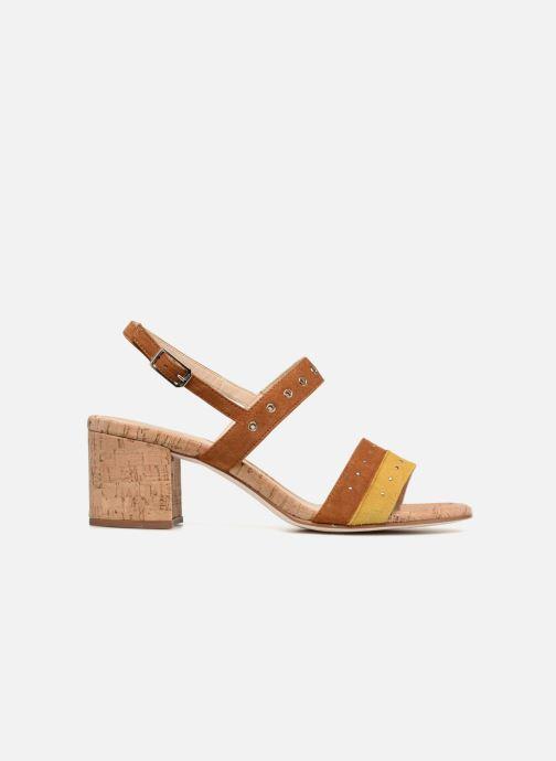 Sandales et nu-pieds Unisa Osea Marron vue derrière