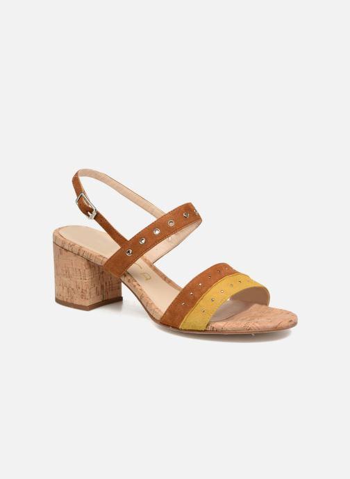 Sandales et nu-pieds Unisa Osea Marron vue détail/paire