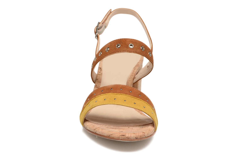Sandals Unisa Osea Brown model view