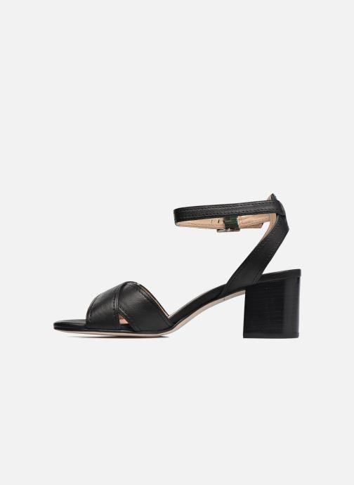 Sandales et nu-pieds Unisa Orno Noir vue face