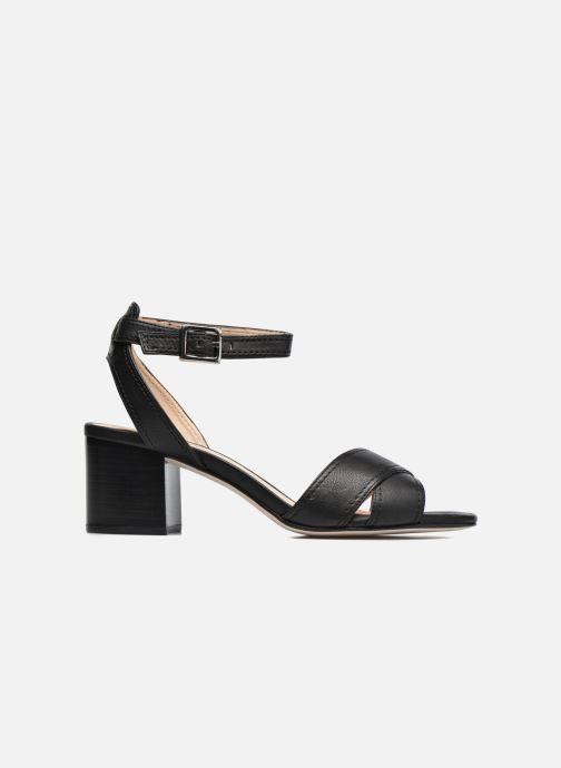Sandales et nu-pieds Unisa Orno Noir vue derrière