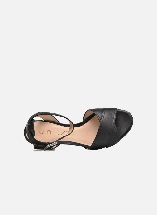 Sandals Unisa Orno Black view from the left