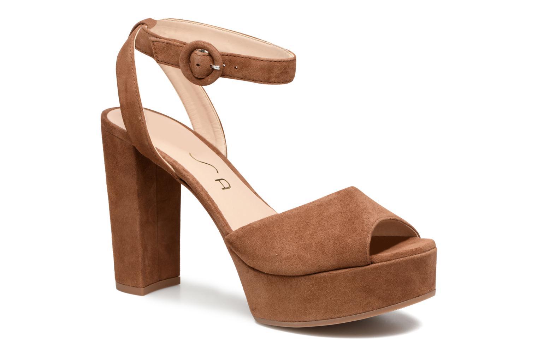 Sandaler Unisa Venta Brun detaljeret billede af skoene