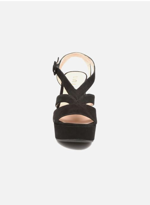 Sandales et nu-pieds Unisa Vistor Noir vue portées chaussures