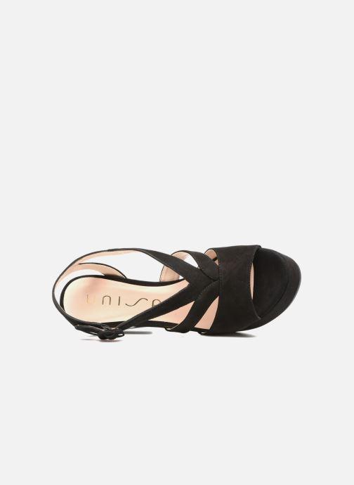 Sandales et nu-pieds Unisa Vistor Noir vue gauche