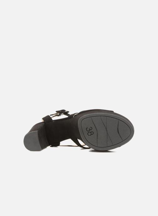 Sandales et nu-pieds Unisa Vistor Noir vue haut
