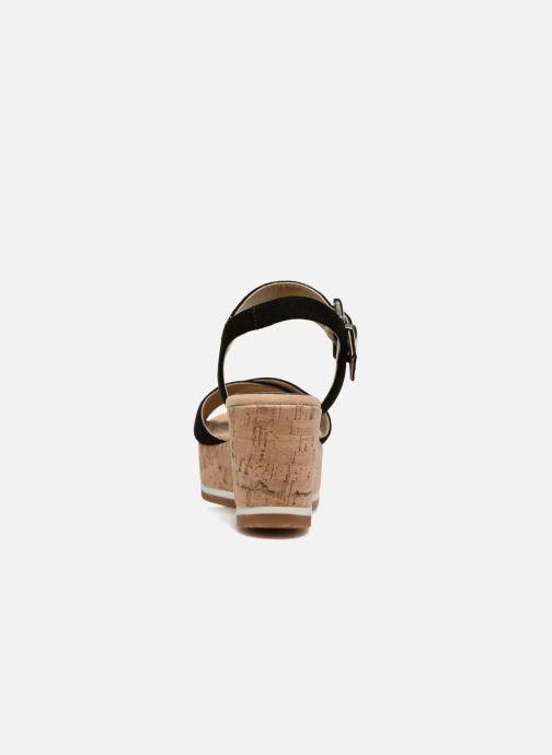 Sandales et nu-pieds Unisa Karpi Noir vue droite
