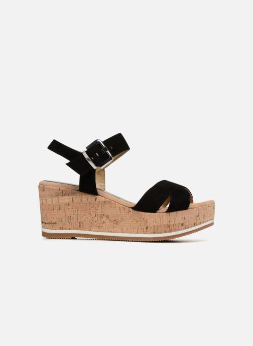 Sandales et nu-pieds Unisa Karpi Noir vue derrière