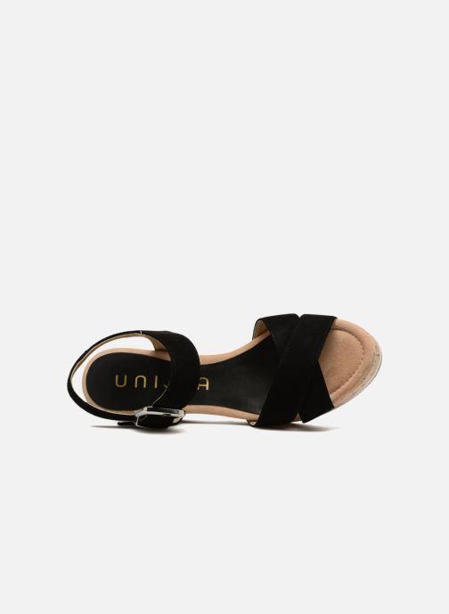 Sandales et nu-pieds Unisa Karpi Noir vue gauche