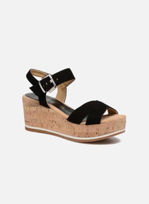 Sandales et nu-pieds Unisa Karpi Noir vue détail/paire