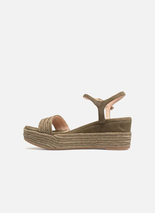 Sandales et nu-pieds Unisa Katia Vert vue face