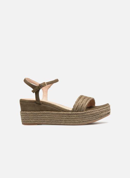 Sandales et nu-pieds Unisa Katia Vert vue derrière