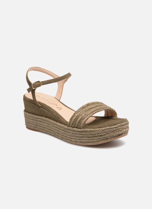 Sandales et nu-pieds Unisa Katia Vert vue détail/paire