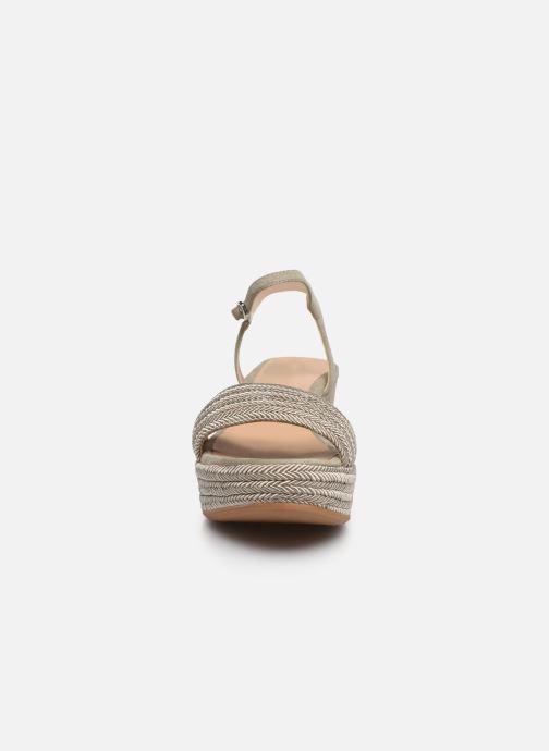 Sandalen Unisa Katia beige schuhe getragen