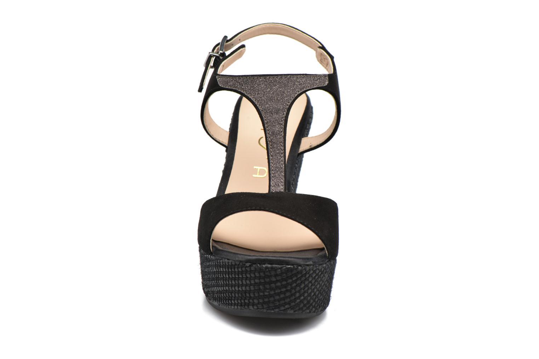 Sandales et nu-pieds Unisa Mambasen Noir vue portées chaussures