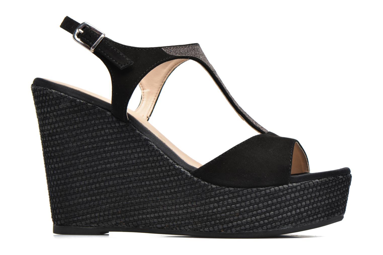 Sandales et nu-pieds Unisa Mambasen Noir vue derrière