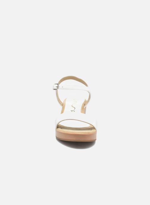 Sandales et nu-pieds Unisa Irita 3 Blanc vue portées chaussures