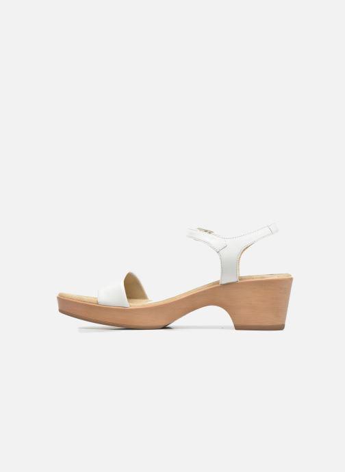 Sandales et nu-pieds Unisa Irita 3 Blanc vue face