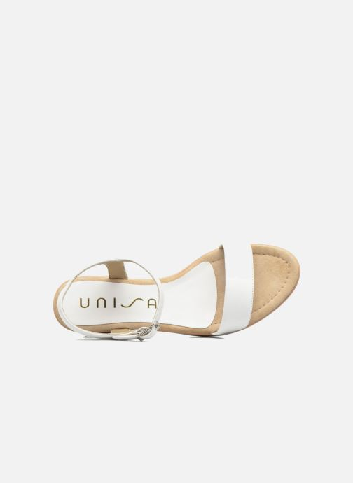 Sandales et nu-pieds Unisa Irita 3 Blanc vue gauche