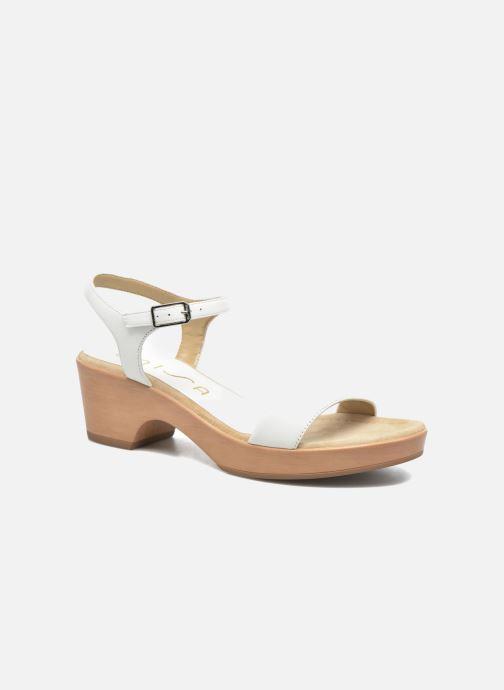 Sandales et nu-pieds Unisa Irita 3 Blanc vue détail/paire