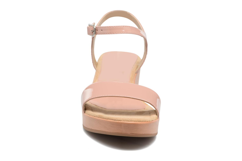 Sandales et nu-pieds Unisa Irita 3 Rose vue portées chaussures