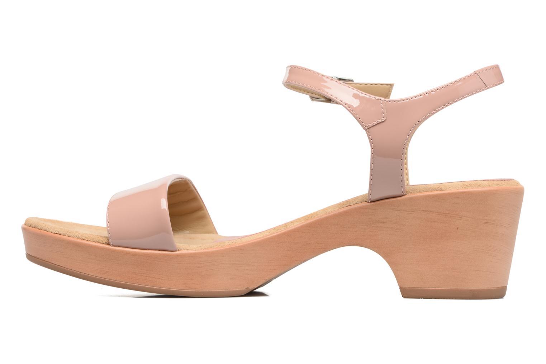 Sandales et nu-pieds Unisa Irita 3 Rose vue face