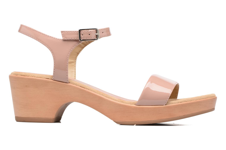 Sandales et nu-pieds Unisa Irita 3 Rose vue derrière