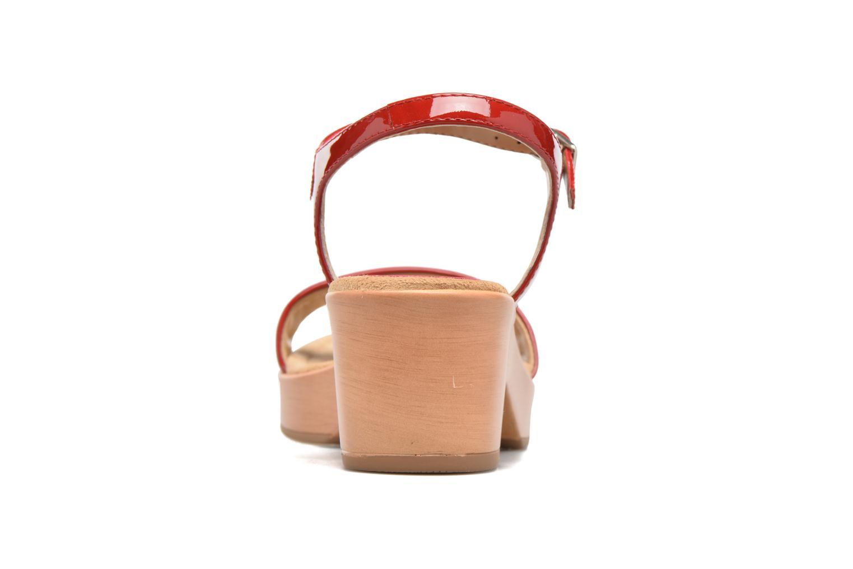 Sandales et nu-pieds Unisa Irita 3 Rouge vue droite