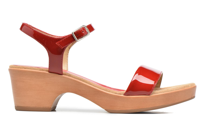 Sandales et nu-pieds Unisa Irita 3 Rouge vue derrière